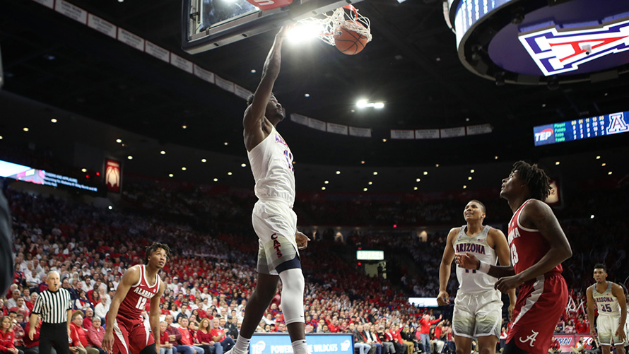 Arizona Battles Past Alabama 88-82